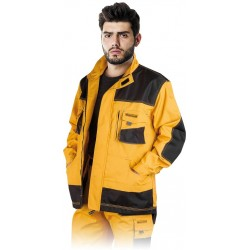 Bluza ochronna Formen LHFMNJ YBS żółto-czarno-szara r. S-3XL