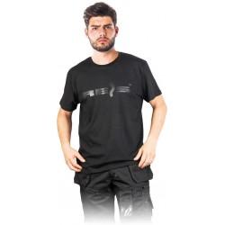 T-shirt męski REIS TSMREIS czarny 100% bawełna r. S - 2XL