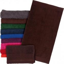 Ręcznik frotte Reis T-INDIA-BR 70X140 brązowy