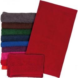 Ręcznik frotte Reis T-INDIA-DC 70X140 ciemnoczerwony