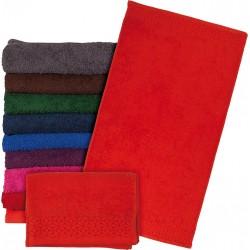 Ręcznik frotte Reis T-INDIA-DP 70X140 ciemnopomarańczowy