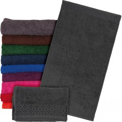 Ręcznik frotte Reis T-INDIA-DS 70X140 ciemnoszary