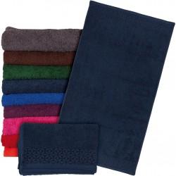Ręcznik frotte Reis T-INDIA-DN 50X90 ciemnoniebieski