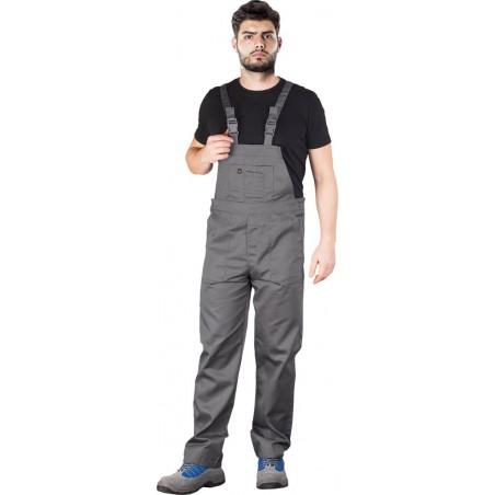 Spodnie ogrodniczki REIS YES-B szare r. 46 - 62
