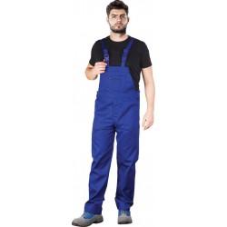 Spodnie ogrodniczki REIS YES-B niebieskie r. 46 - 62
