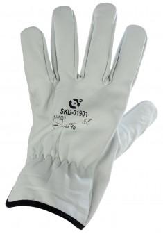 Rękawice robocze skórzane monterskie TIG PROTEGO PROCSK r. 8-11