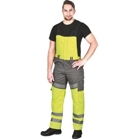 Spodnie ogrodniczki ocieplane Leber Hollman TRANPER Y r. M - 3XL