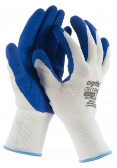Rękawice robocze Ogrifox OX-LATEKS WN powlekane lateksem r. 7-10
