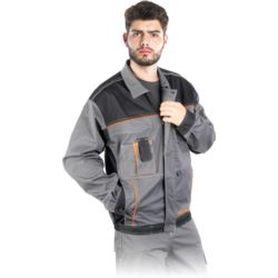 Bluza robocza REIS PRO MASTER PRO-STRECH-J szara r. M - 3XL