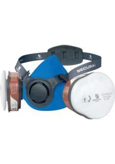 Zestaw SECURA 3000 ADR półmaska z pochłaniaczami i filtrami