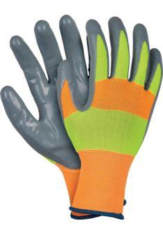 Rękawice ochronne powlekane nitrylem STRADA r. 7 - 10