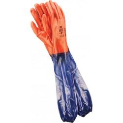 Rękawice ochronne z PCV...