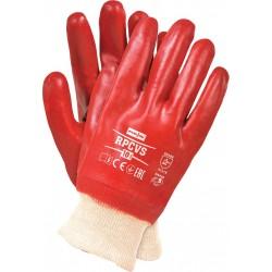 Rękawice ochronne z PCV REIS RPCVS C r. 10