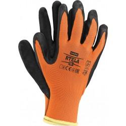 Rękawice ochronne powlekane latexem RTELA PB r. 7 -11