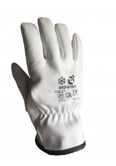 Rękawice robocze kozia skóra ocieplane TIG PROCSK-WIN