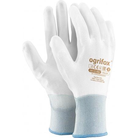 Rękawice ochronne powlekane Ogrifox OX-POLIUR WW r. 7 - 10
