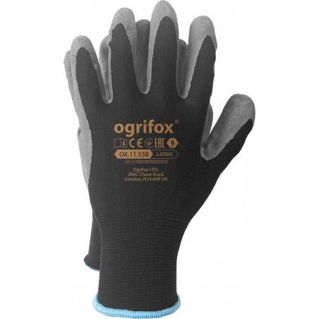 Rękawice robocze OX LATEKS BS powlekane lateksem