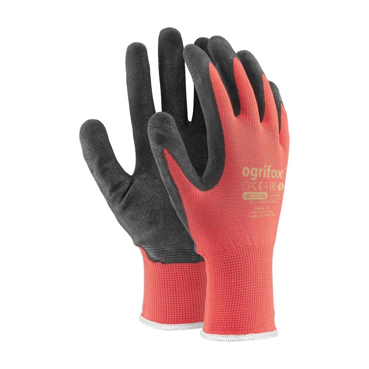 Rękawice ochronne OX-LATEKS CB powlekane lateksem