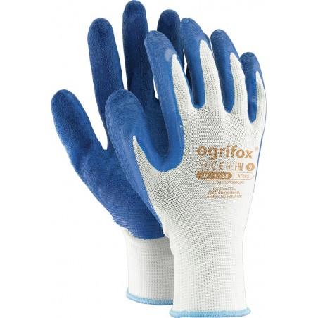 Rękawice robocze Ogrifox OX-LATEKS WN powlekane lateksem