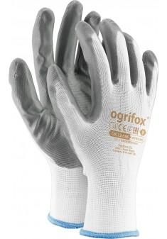 Rękawice ochronne OX NITRICAR WS powlekane nitrylem r. 7 - 10