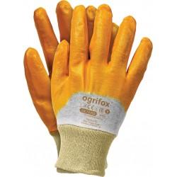 Rękawice ochronne powlekane nitrylem Ogrifox OX-NITER BEP r. 8 - 10
