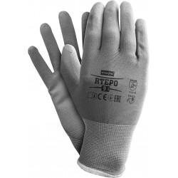Rękawice ochronne REIS RTEPO SS polecane do prac precyzyjnych, dostępne w rozmiarze od 7 do 10.