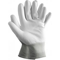 Rękawice ochronne z poliestru powlekane poliuretanem RTEPO WW r. 7 - 10