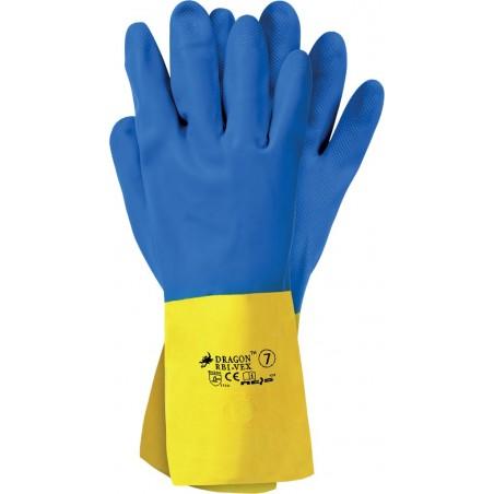 Rękawice ochronne z latexu i kauczuku neoprenowego RBI-VEX