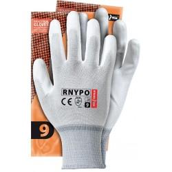 Rękawice ochronne nylon powlekane REIS RNYPO WW r. 6 - 11