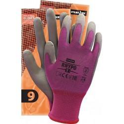 Rękawice ochronne z nylonu powlekane REIS RNYPO VS r. 6 - 11
