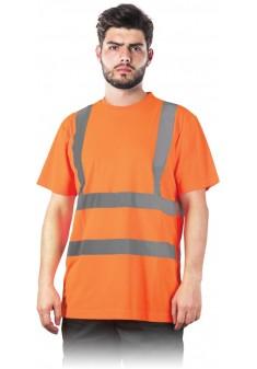 T-SHIRT odblaskowy ostrzegawczy TSROUTE_PS pomarańczowy