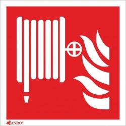 Znak ochrony PPOŻ.Hydrant wewnętrzny 150x150 Z-F002-P Z-F002-F