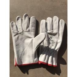 Rękawice robocze skóra bydlęca mocne PROBDL XL