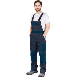 Spodnie robocze ochronne ogrodniczki REIS Bomull