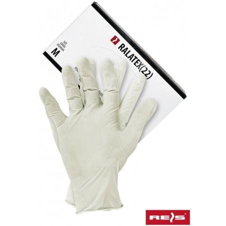 Rękawice lateksowe lekko pudrowane 100% LATEX