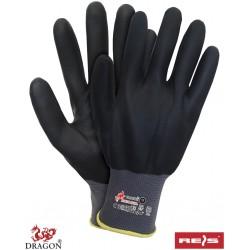 Rękawice ochronne z nylonu DRAGON RNIFO-FULL SB r. 7 - 10