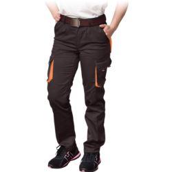 Spodnie ochronne damskie do pasa FRAULAND-T_BP z elastanem