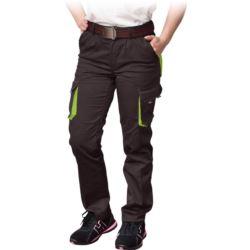 Spodnie damskie do pasa FRAULAND-T_BY z elastanem