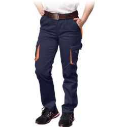 Spodnie damskie do pasa FRAULAND-T_GP z elastanem