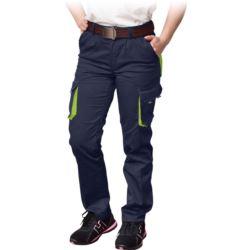 Spodnie damskie do pasa FRAULAND-T_GY z elastanem