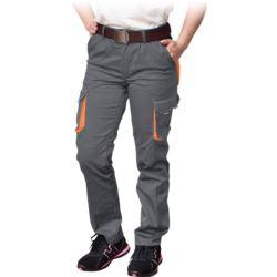 Spodnie damskie do pasa FRAULAND-T_SP z elastan