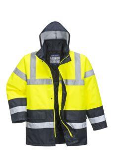 Kontrastowa kurtka ostrzegawcza S466