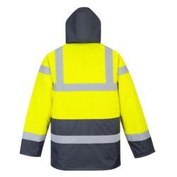 S466YERXS Kontrastowa kurtka ostrzegawcza Traffic