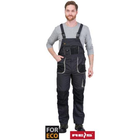 Spodnie robocze ogrodniczki FORECO-B_SBJ