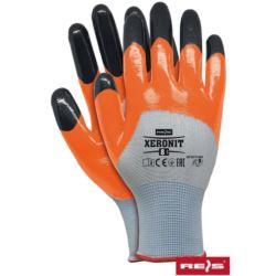 Rękawice robocze ochronne XERONIT WP powlekane nitrylem