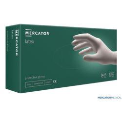 Rękawice lateksowe pudrowane RMM-LATEX