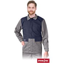 Bluza ochronna trudnopalna, antyelektrostatyczna dla spawaczy WELD J