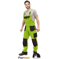 Spodnie ogrodniczki robocze Formen LHFMNB LBR