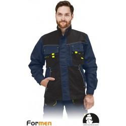 Bluza ochronna Formen LHFMNJ GBY granatowo-czarno-żółtym