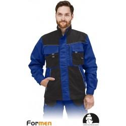 Bluza ochronna Formen LHFMNJ NBS niebiesko-czarno-szara